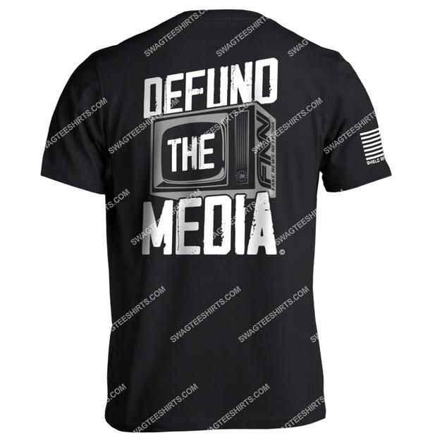 defund the media political full print shirt 2