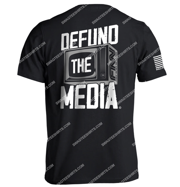 defund the media political full print shirt 4