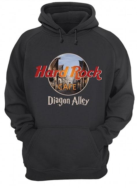 diagon alley hard rock cafe hoodie