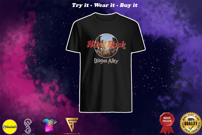 diagon alley hard rock cafe shirt