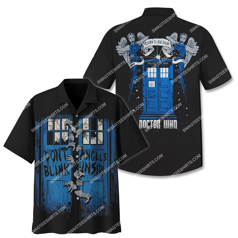 don't blink angels inside doctor who tv show full printing hawaiian shirt 2(1) - Copy
