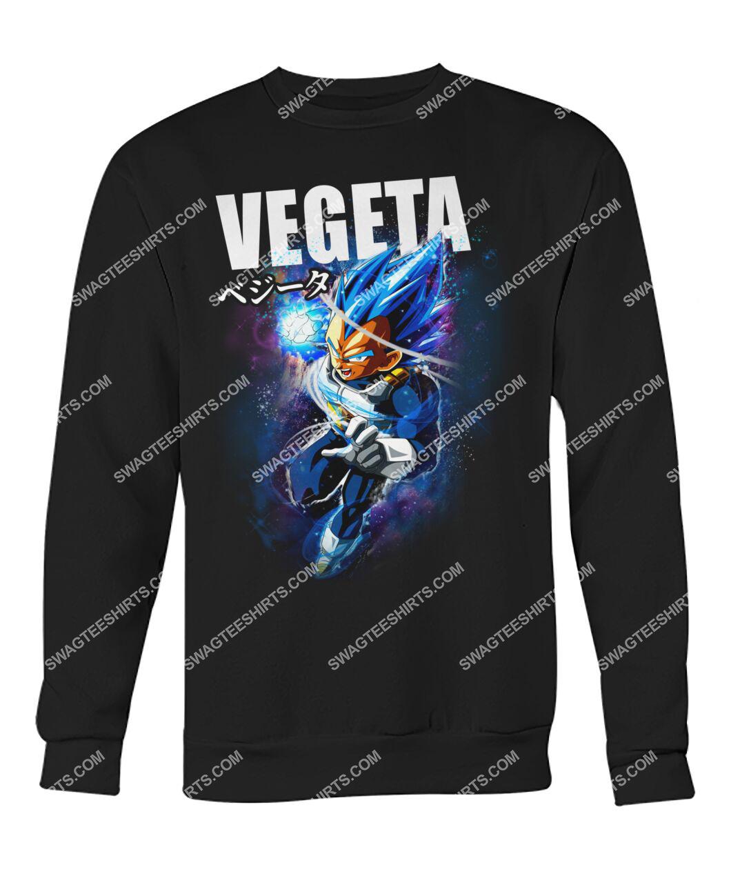 dragon ball z vegeta super saiyan sweatshirt 1