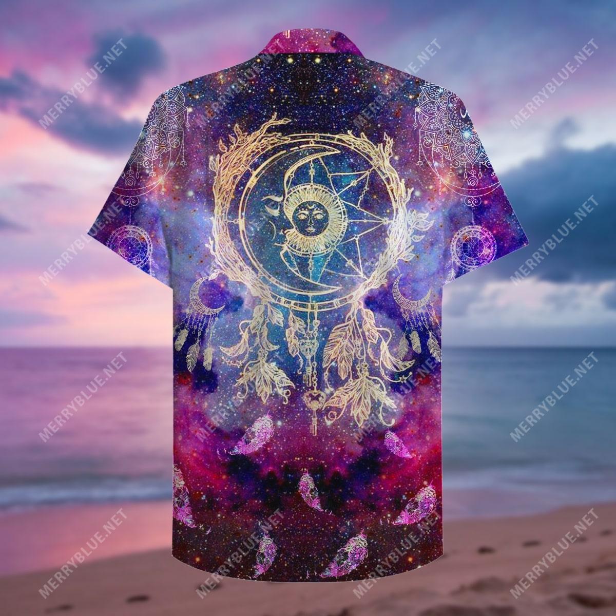 dreamcatcher colorful all over print hawaiian shirt 5