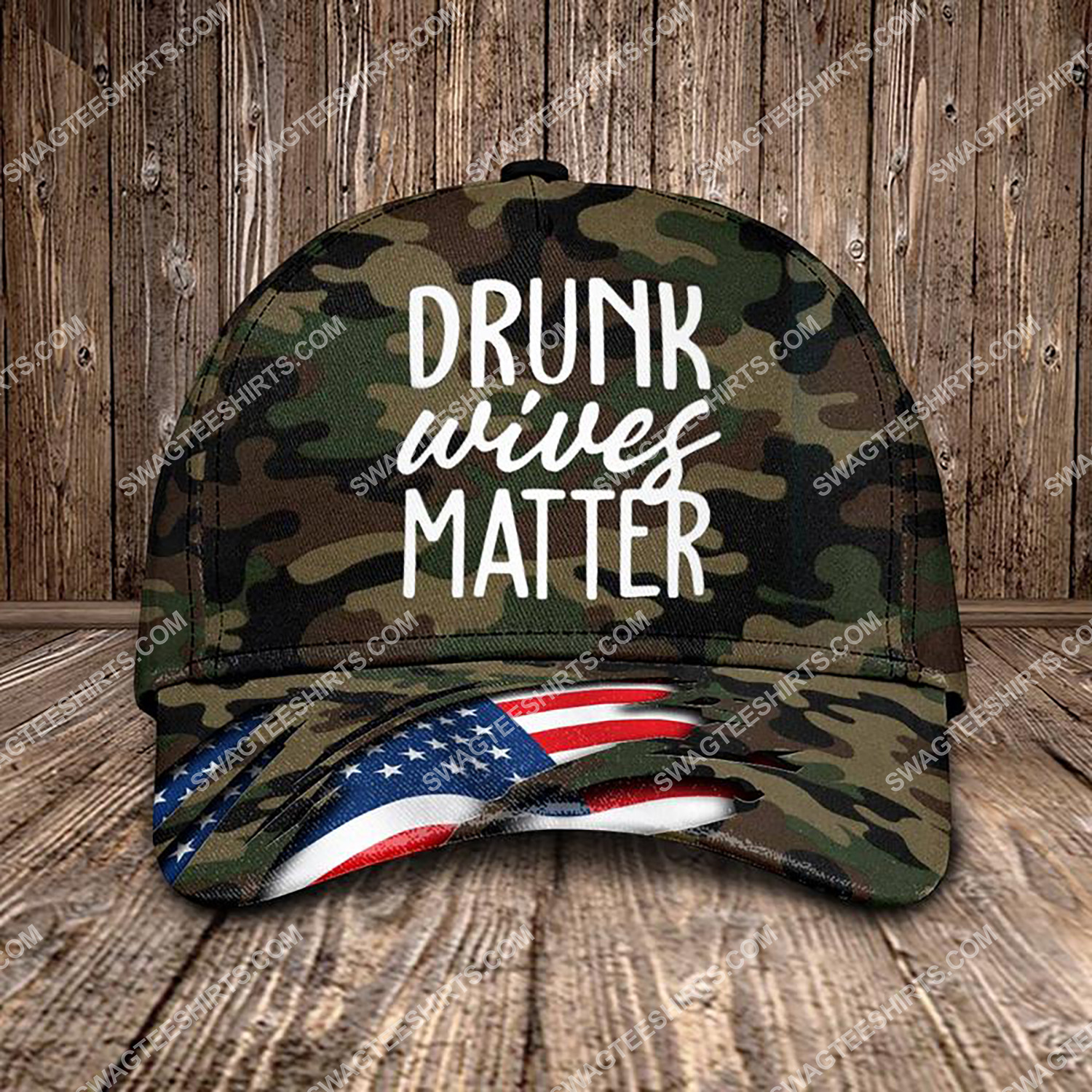 drunk wives matter all over printed classic cap 3 - Copy (2)