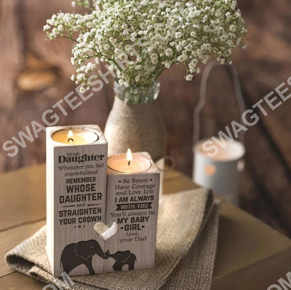 elephant to my daughter you will always be my baby girl love mom candle holder 3(1)