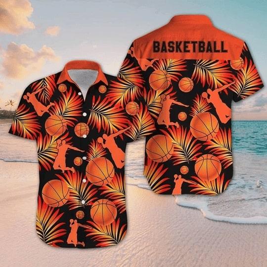 for basketball fan all over printed hawaiian shirt 2