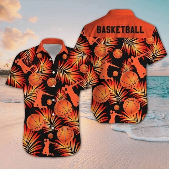 for basketball fan all over printed hawaiian shirt 3