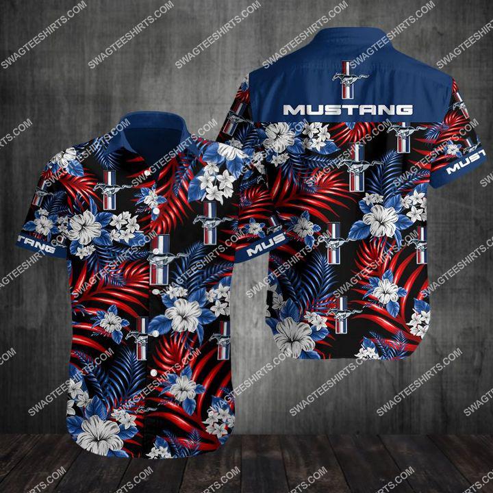 ford mustang car full printing hawaiian shirt 2(1)