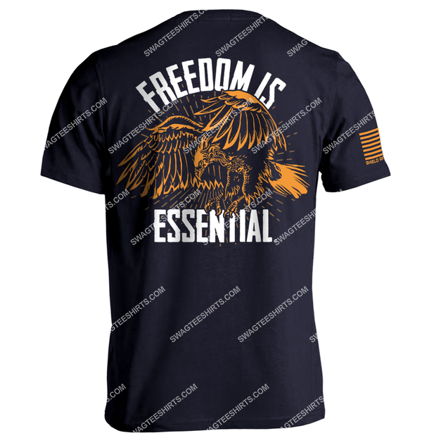 freedom is essential eagle vintage style political shirt 1