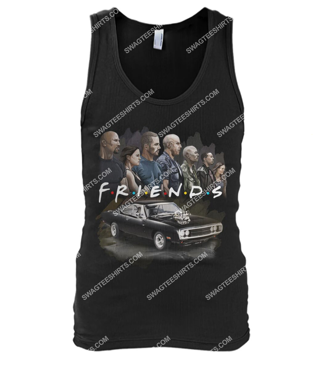 friends tv show fast and furious characters tank top 1