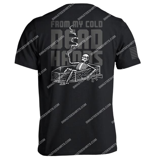 from my cold dead hands skull political full print shirt 1