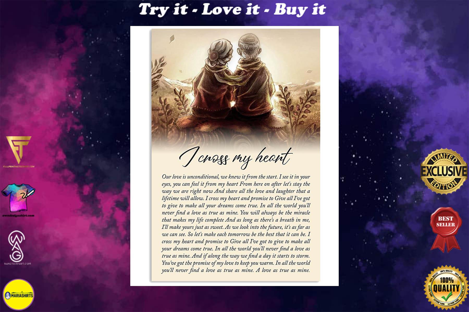 george strait i cross my heart lyrics couple in love poster