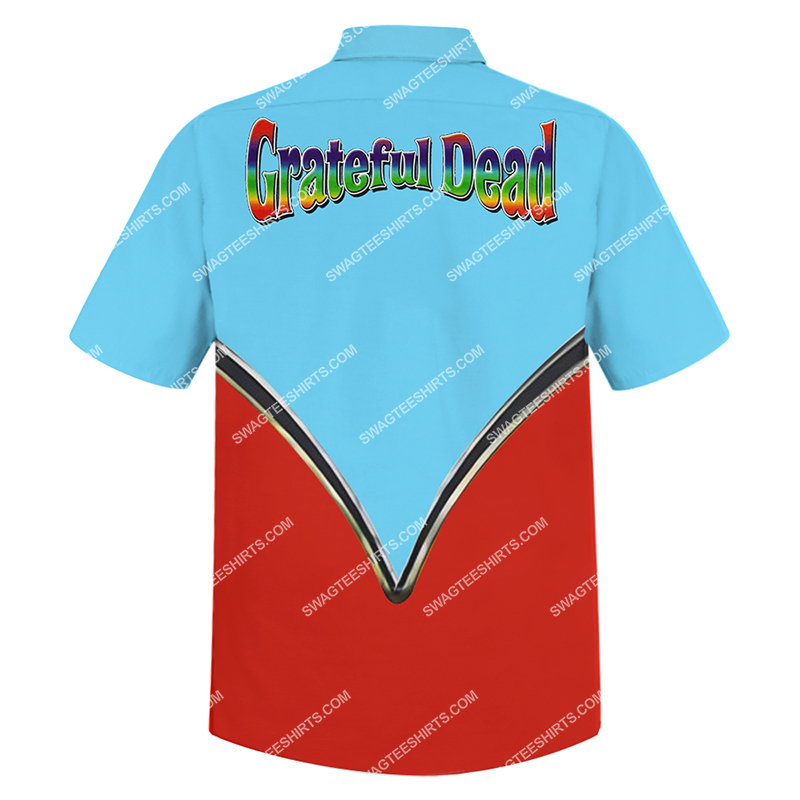grateful dead in the car full printing hawaiian shirt 3(1)