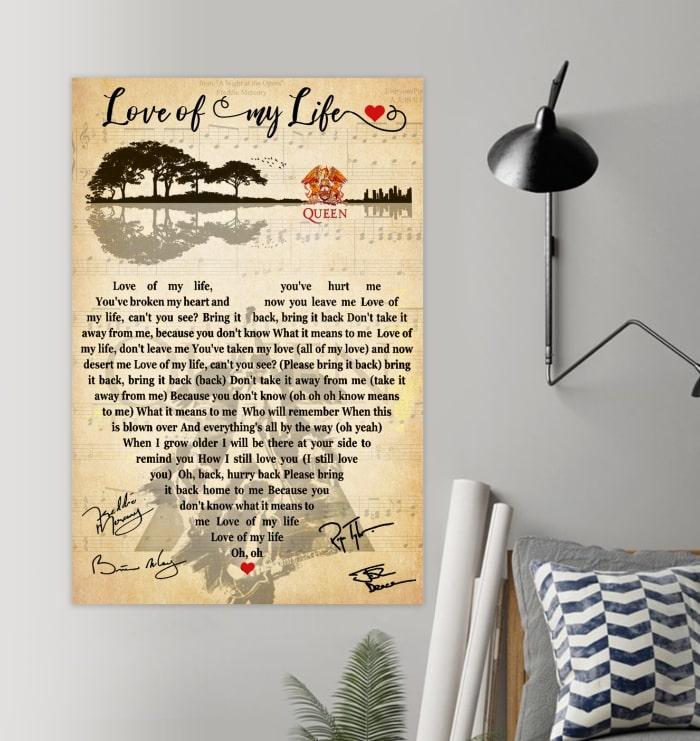 guitar lake shadow love of my life poster 3