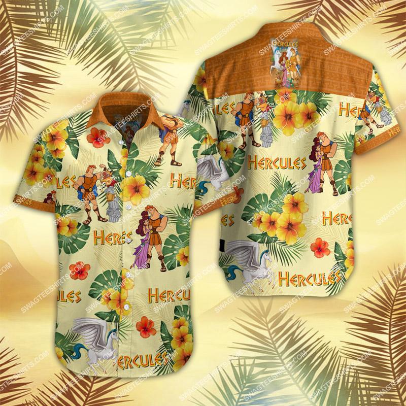 hercules movie all over print hawaiian shirt 2