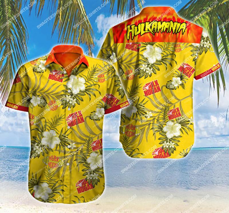 hulkamania hulk hogan all over print hawaiian shirt 2 - Copy