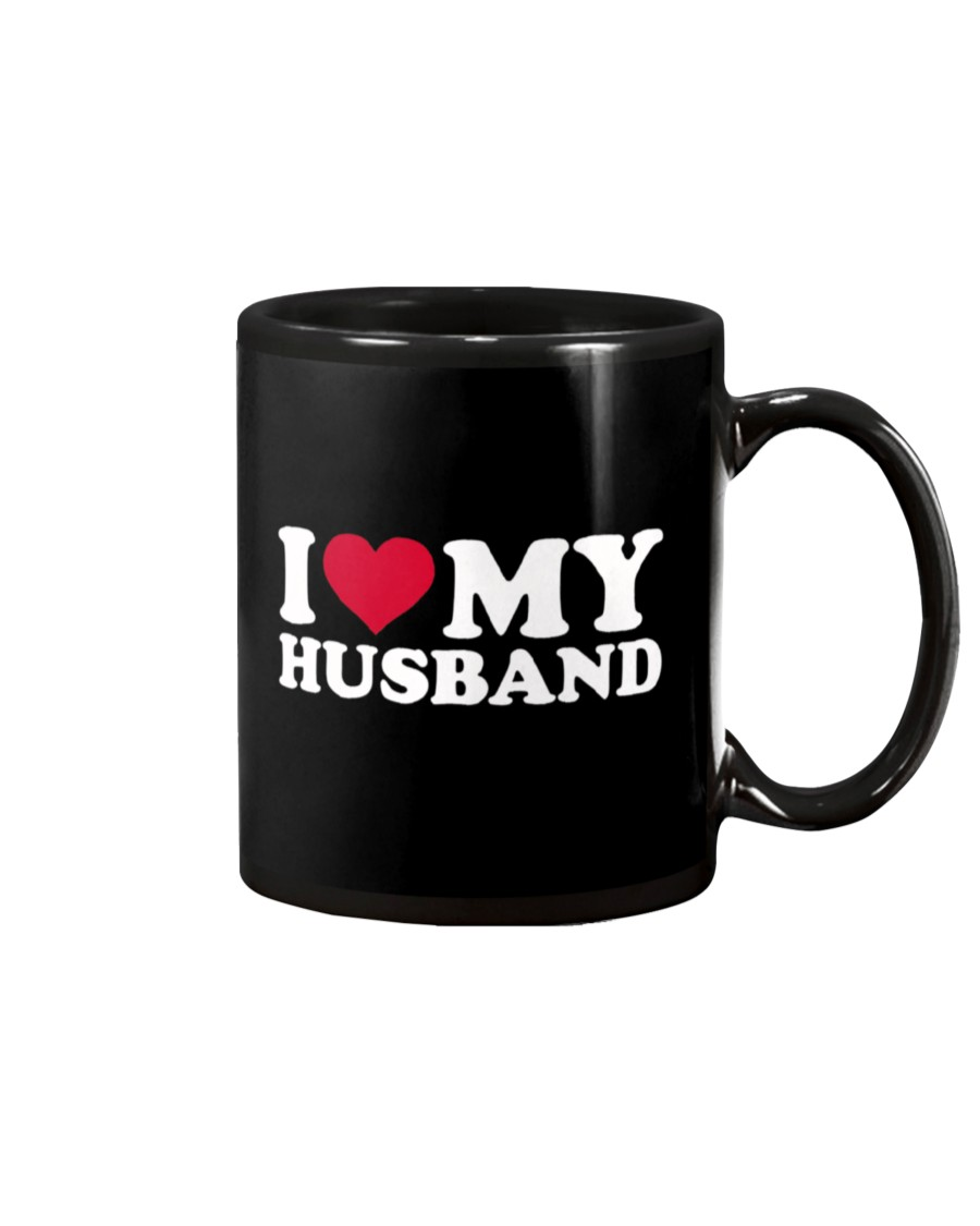 i love my husband happy valentine's day mug 2