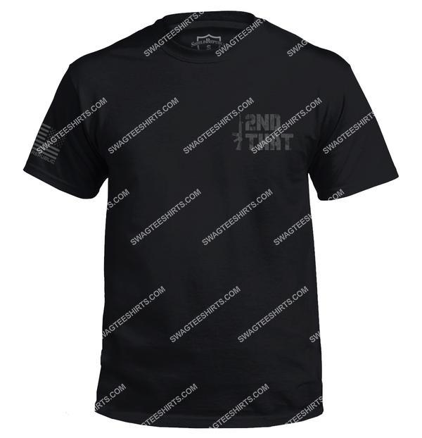 i second that political gun control political shirt 4