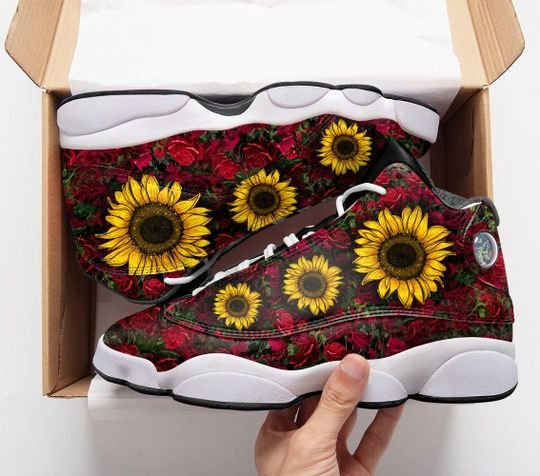 in a worlds full of roses be a sunflower air jordan 13 sneakers 3