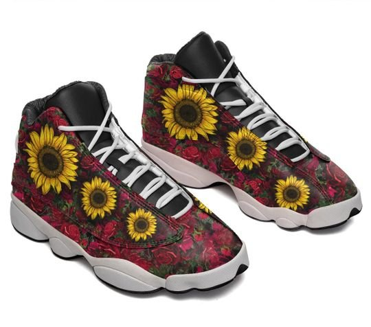 in a worlds full of roses be a sunflower air jordan 13 sneakers 4