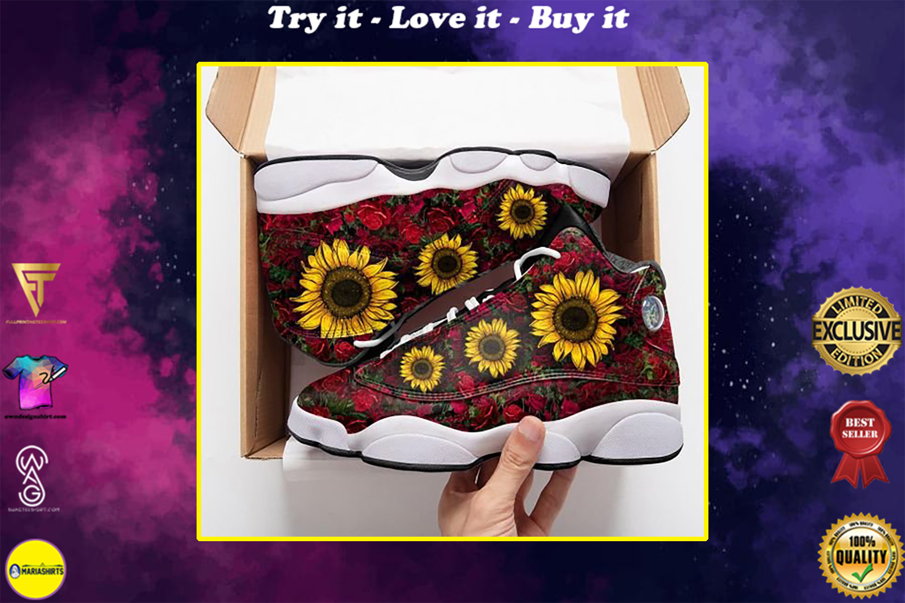 in a worlds full of roses be a sunflower air jordan 13 sneakers