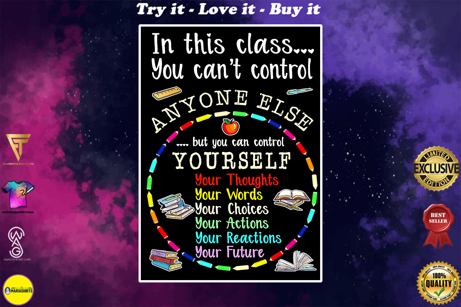 in this class you cant control anyone else poster