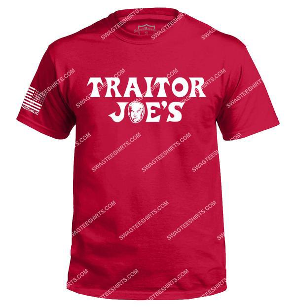 joe biden traitor joe's political full print shirt 3