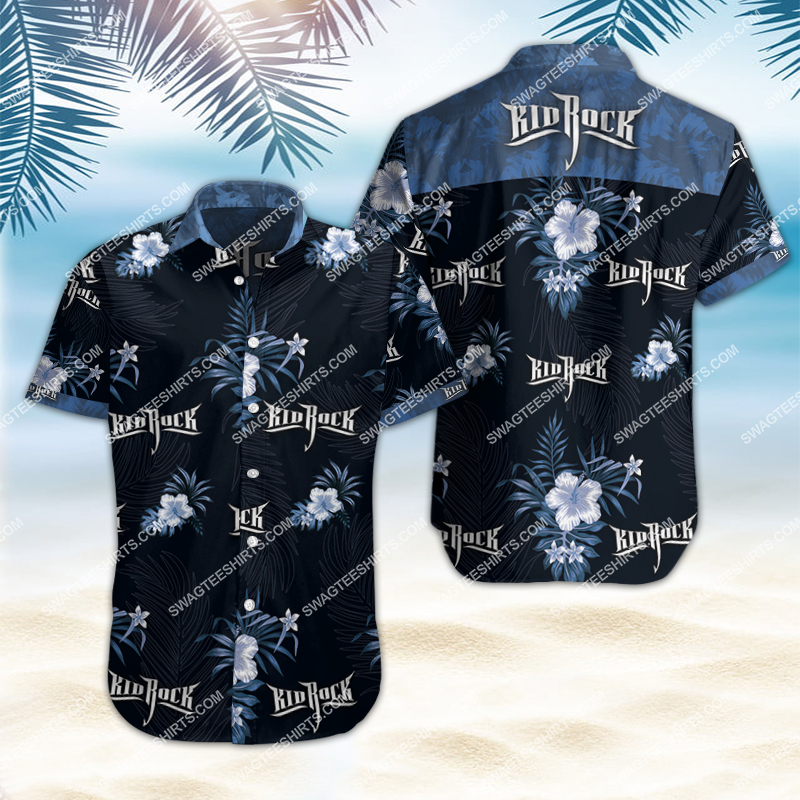 kid rock band all over print hawaiian shirt 2 - Copy