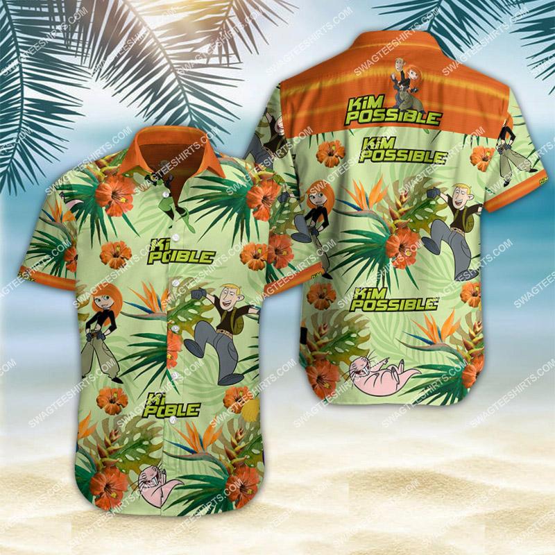 kim possible movie all over print hawaiian shirt 2