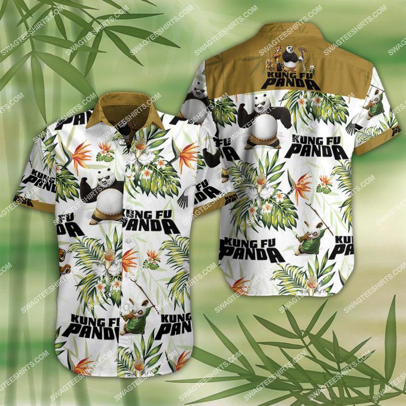 kung fu panda movie all over print hawaiian shirt 2 - Copy