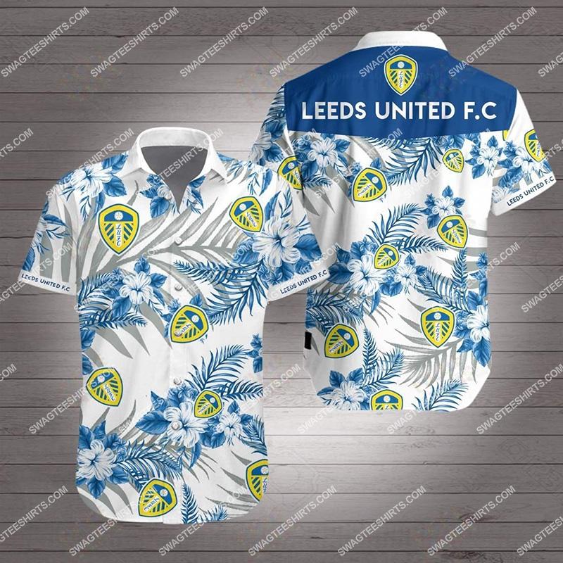 leeds united fc all over print hawaiian shirt 2