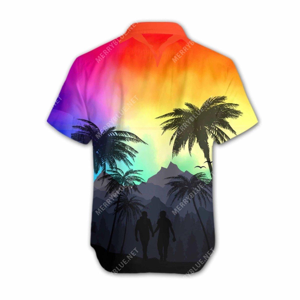 lgbt love all over printed hawaiian shirt 4