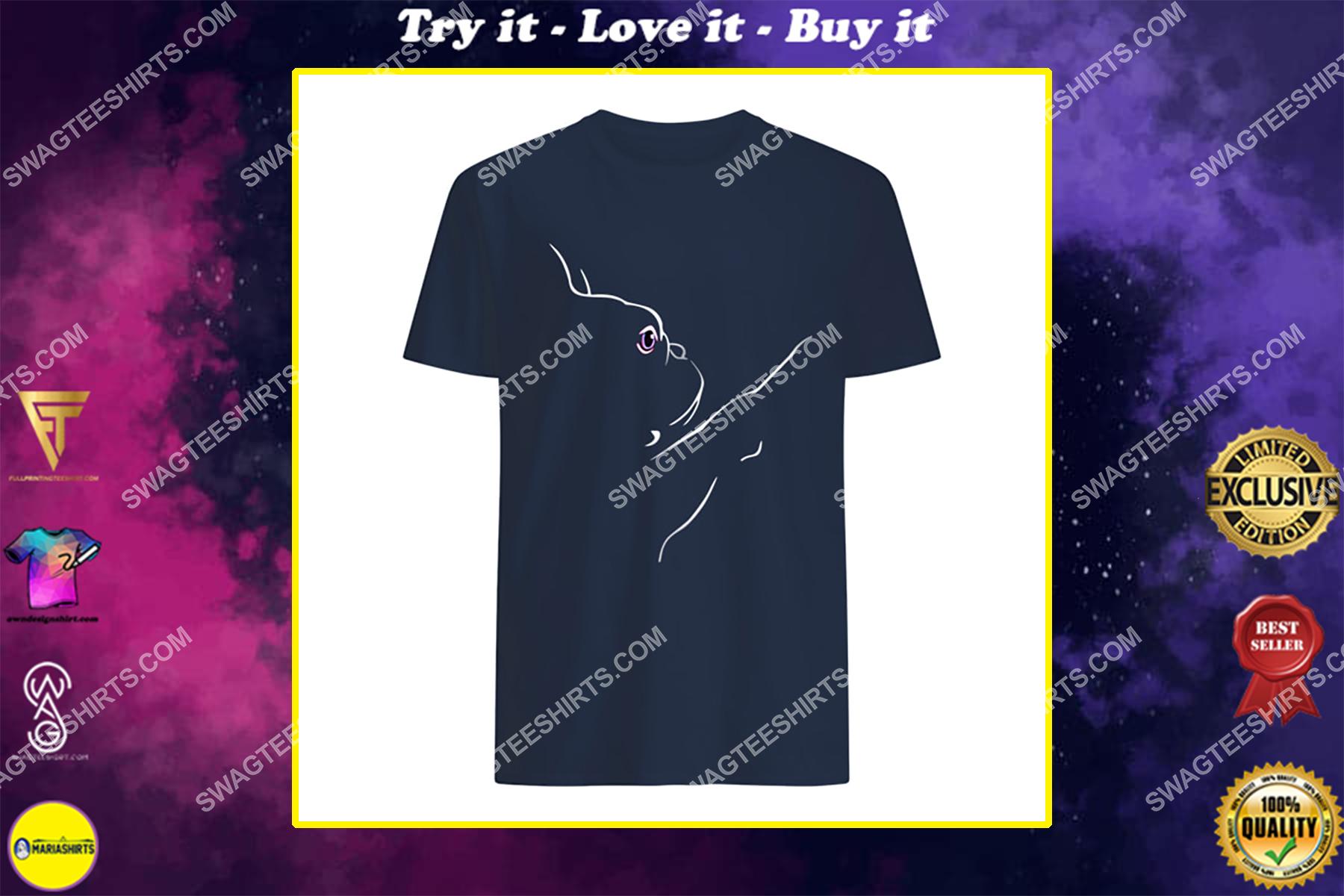 love french bulldog for dog lover shirt