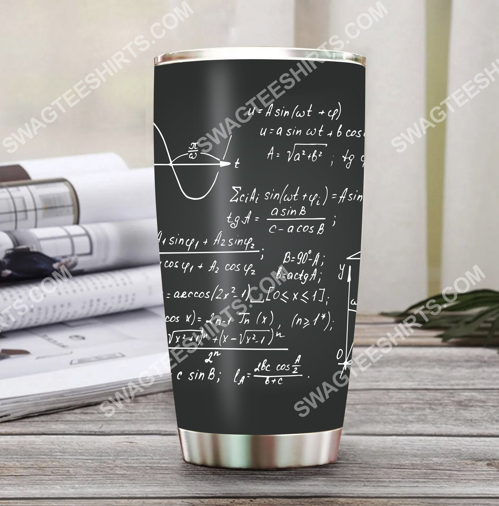 math formulas math lover all over printed stainless steel tumbler 2(1)