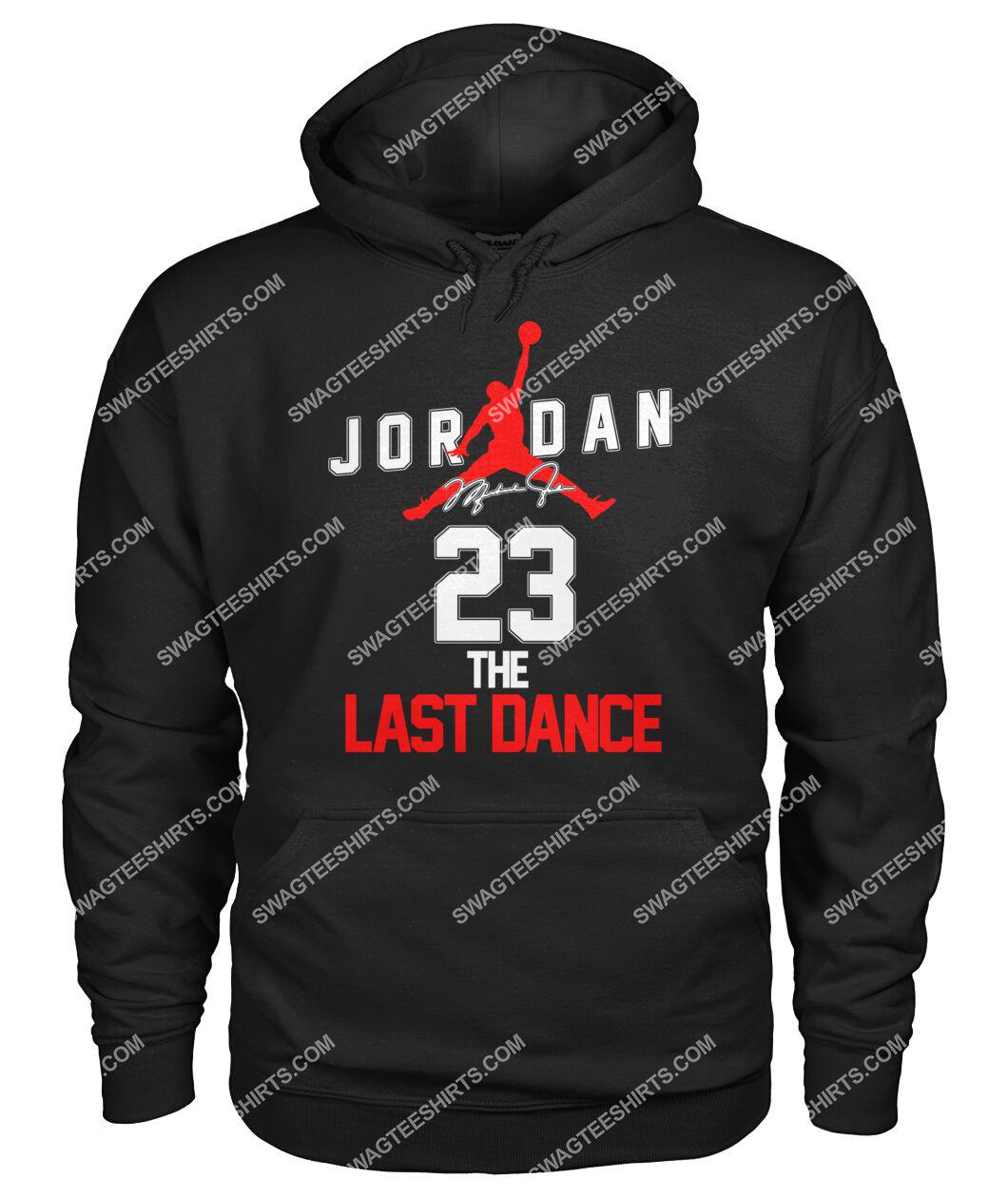 michael jordan 23 the last dance signature hoodie 1