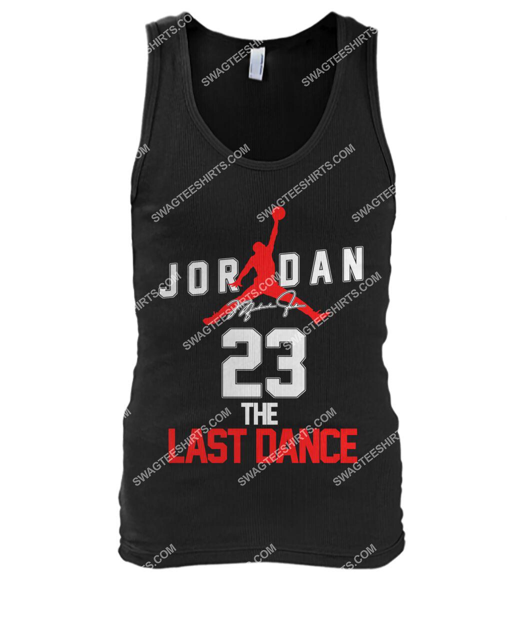 michael jordan 23 the last dance signature tank top 1
