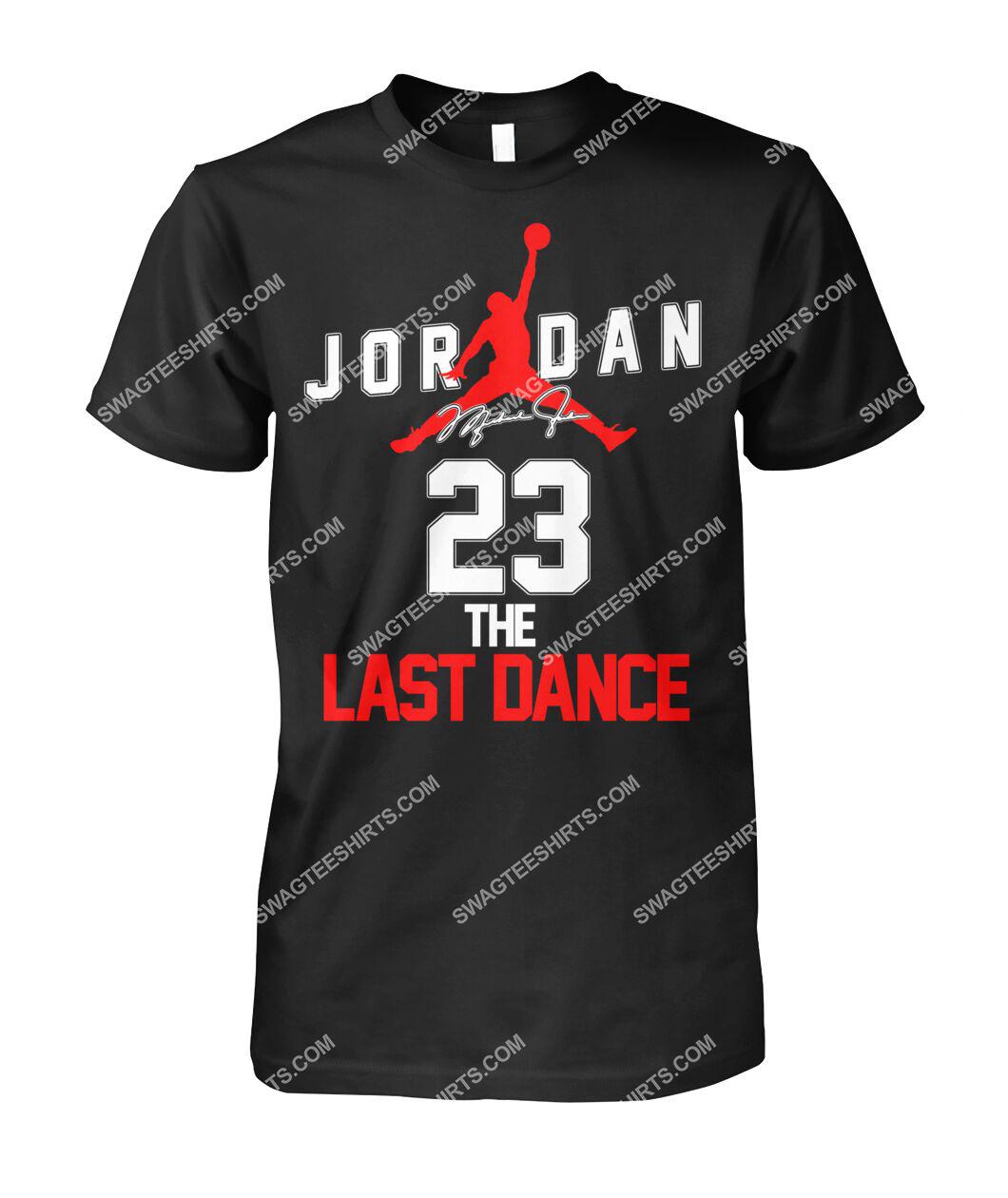 michael jordan 23 the last dance signature tshirt 1