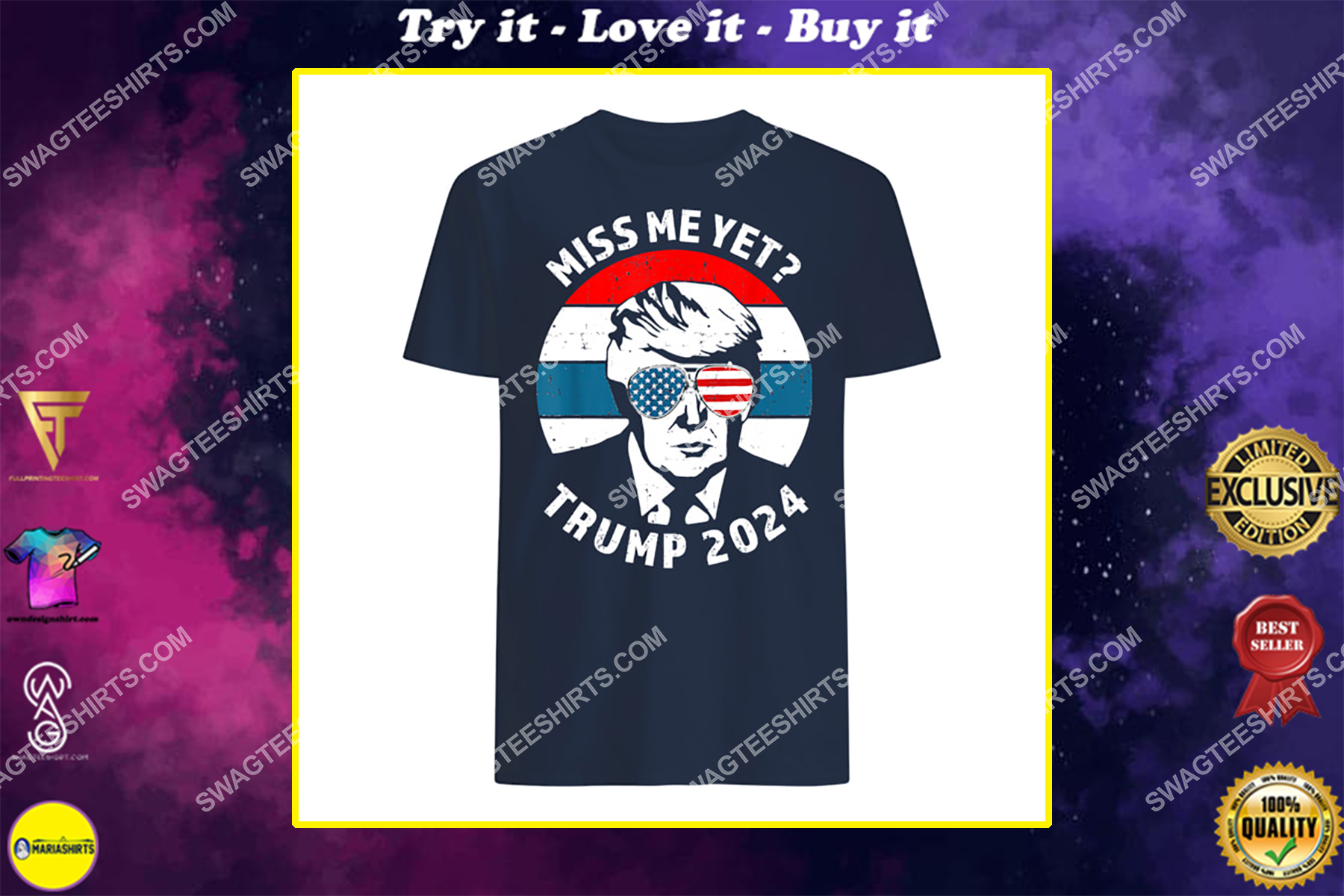 miss me yet donald trump is still my president 2024 shirt