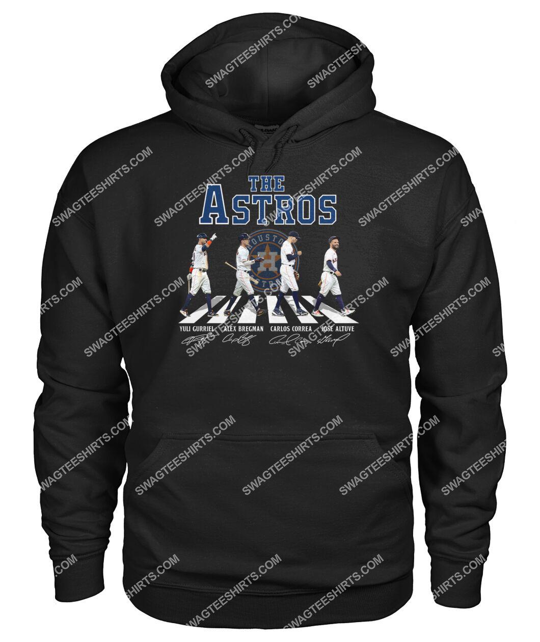 mlb houston astros signatures abbey road hoodie 1