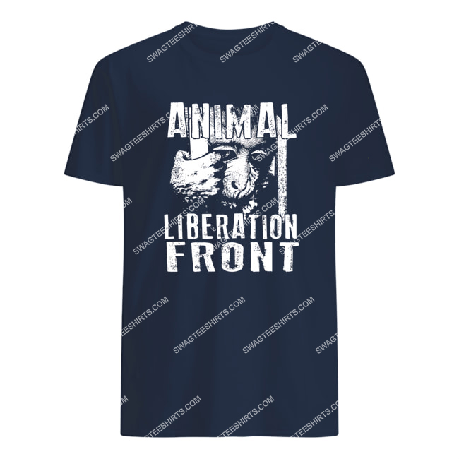 monkey animal liberation front save animals tshirt 1
