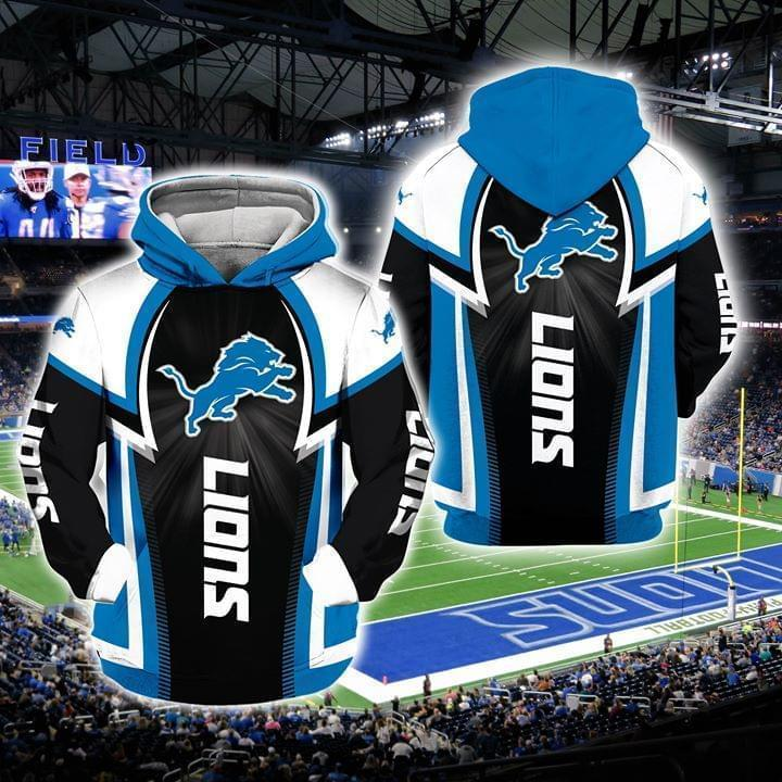 national football league detroit lions full over printed hoodie 1