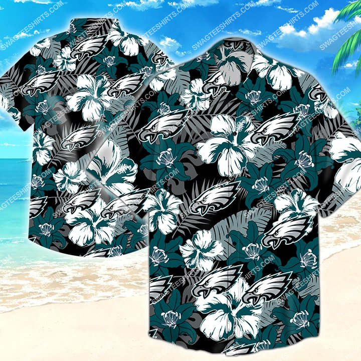 national football league philadelphia eagles hawaiian shirt 2 - Copy