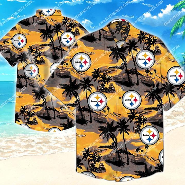 national football league pittsburgh steelers hawaiian shirt 2 - Copy (2)