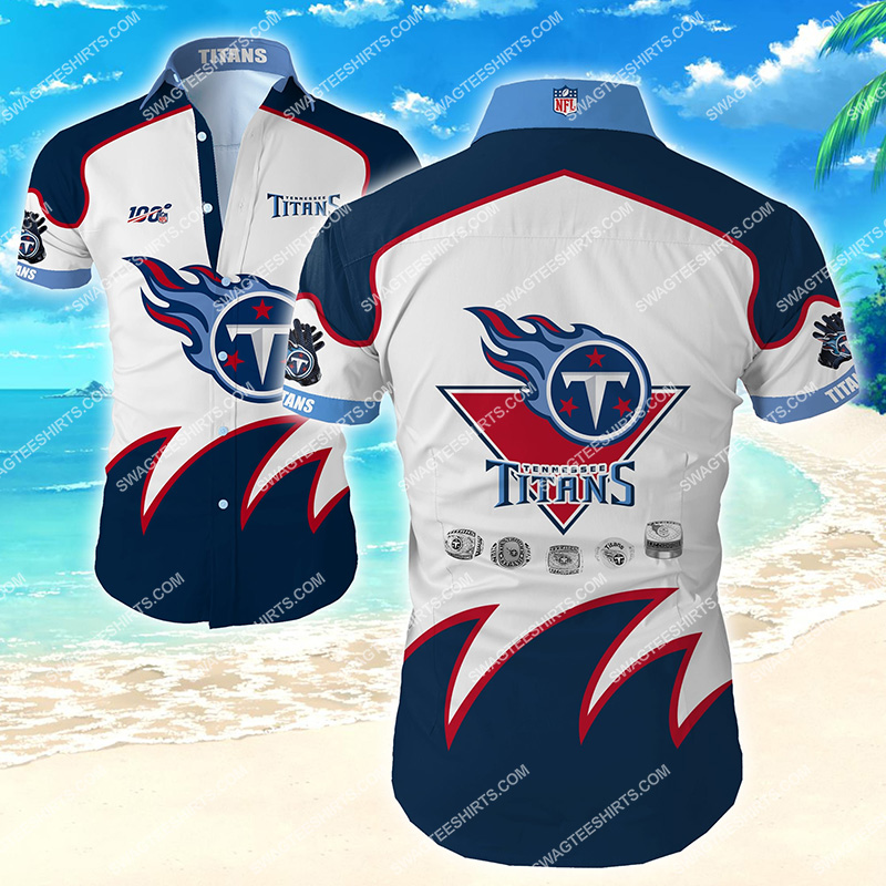 national football league tennessee titans hawaiian shirt 2
