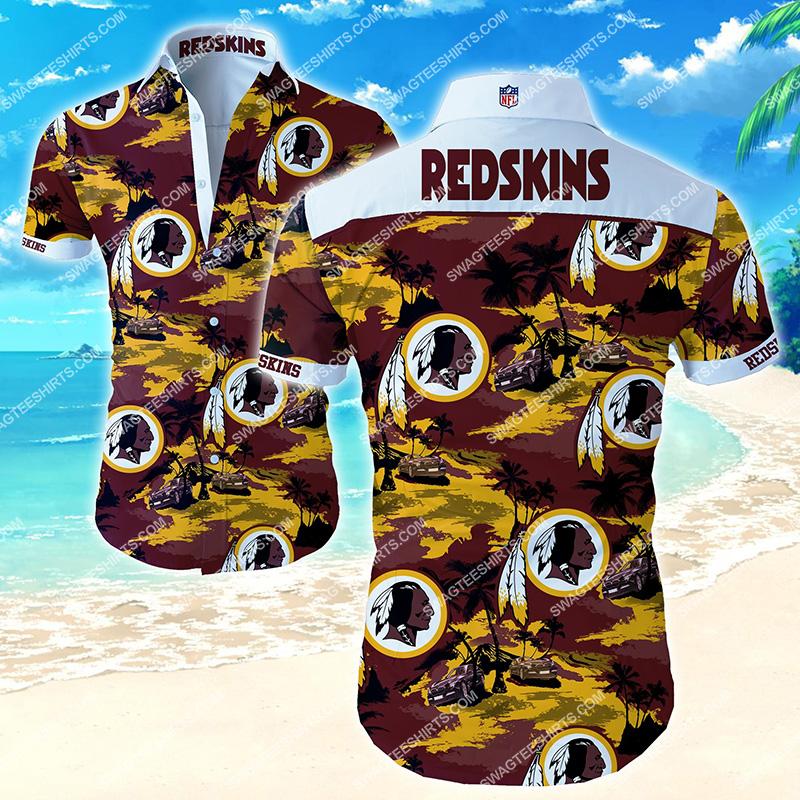 national football league washington redskins hawaiian shirt 2