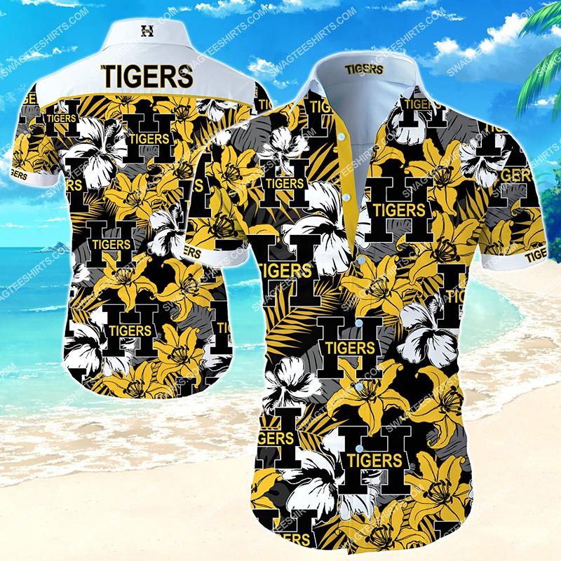 national hockey league hamilton tigers hawaiian shirt 2 - Copy (2)