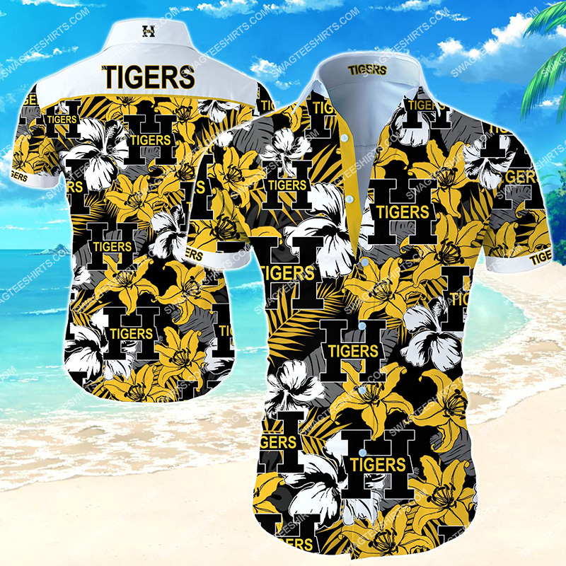 national hockey league hamilton tigers hawaiian shirt 2