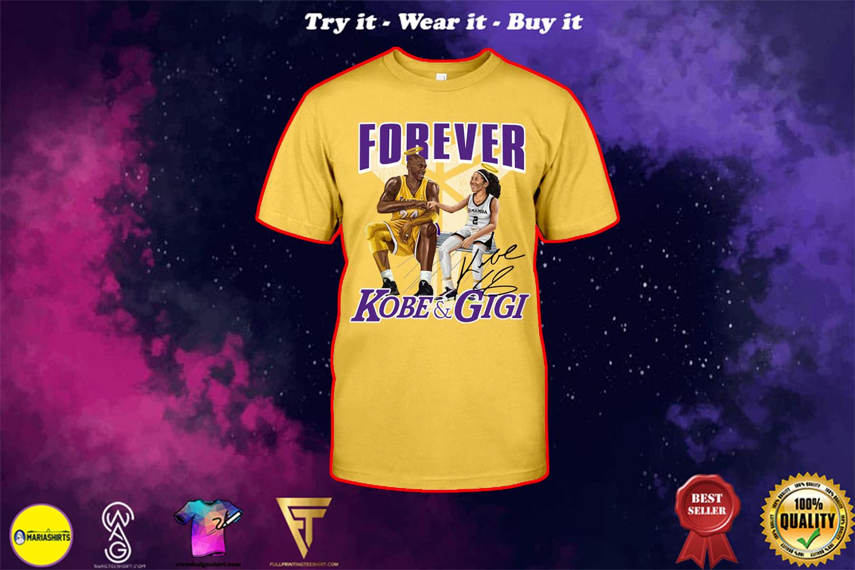 nba forever kobe and gigi shirt