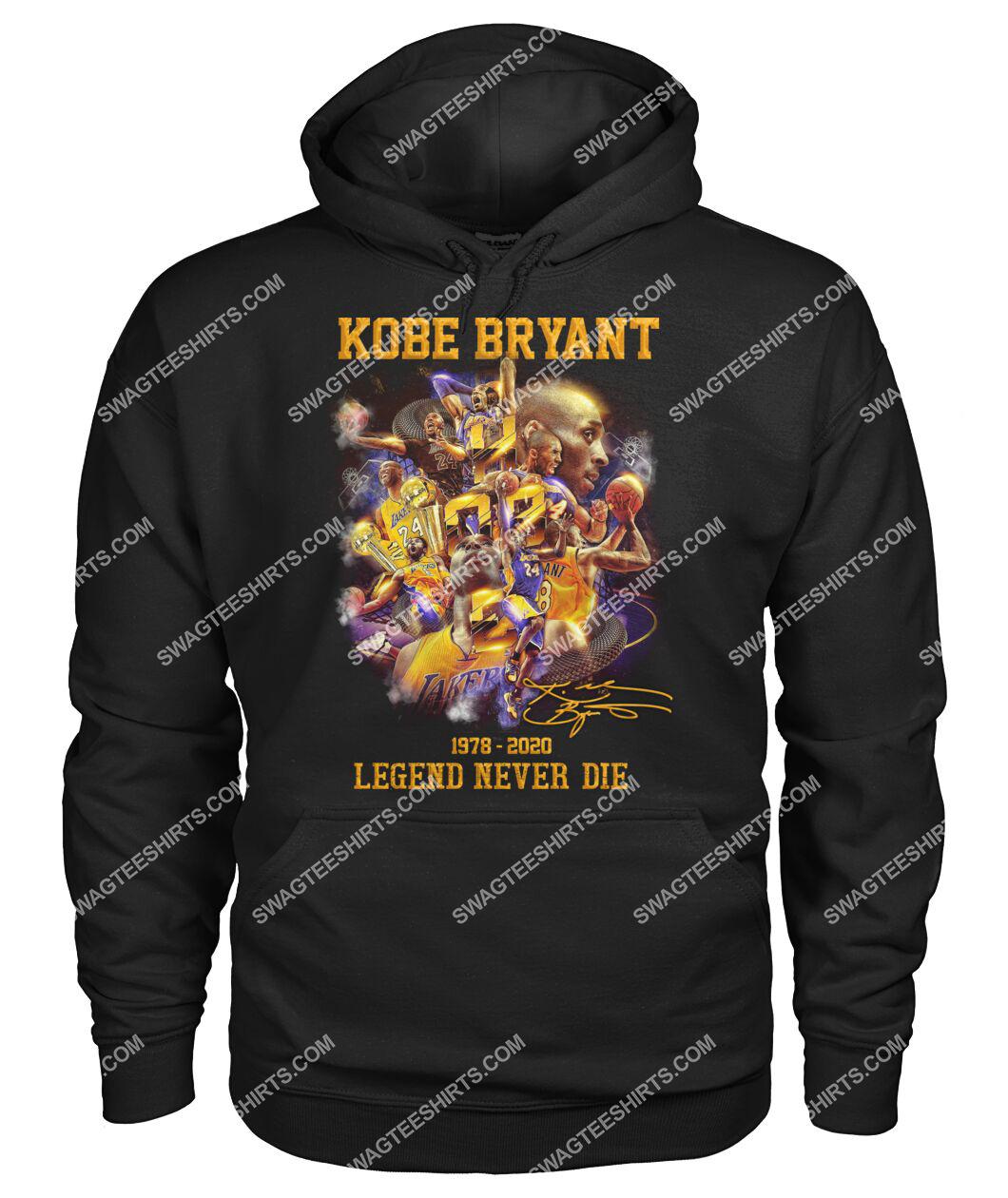 nba kobe bryant legends never die hoodie 1
