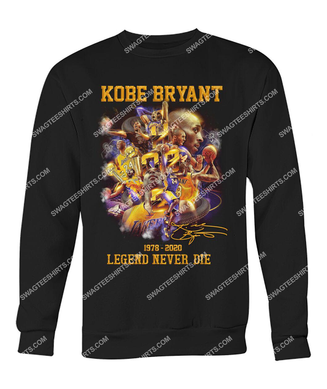 nba kobe bryant legends never die sweatshirt 1
